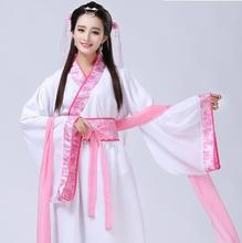 2018 new hanfu national costume ancient chinese cosplay women clothes lady dress