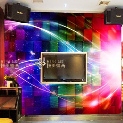 A large mural topic space bar KTV cool rock 3D wallpaper 3D seamless TV setting wall covering мифегин view next topic
