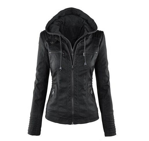 Aliexpress.com : Buy 2017 Autumn Winter New Women's Faux Leather ...