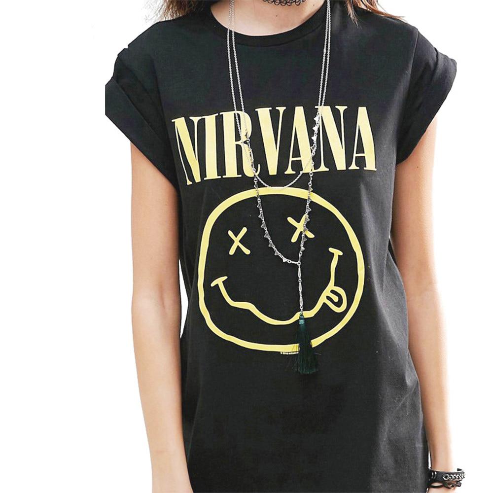 tee shirt femme nirvana