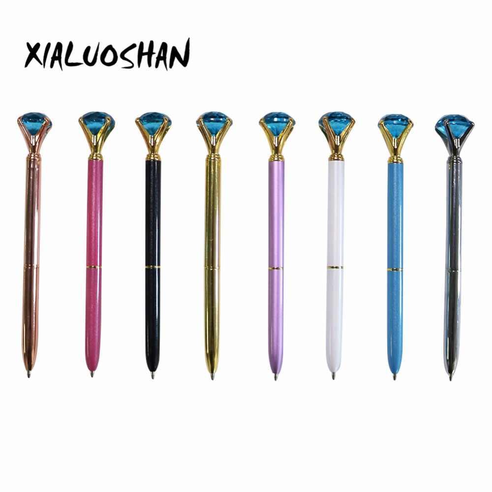 24 style nowa gorąca sprzedaż diamentowy długopis niebieski diament piękna ozdoba materiały dla studentów festiwal prezent papiernicze