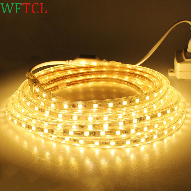 10 Meters 5050 LED Tape Light 60LED/M Ruban LED IP67 Waterproof Flexible LED Strip Lights for house outdoor & indoor decorations
