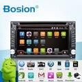 Universal 2 din Android 4.4 Coches Reproductor de DVD GPS + Wifi + Bluetooth + Radio + Quad Core CPU + DDR3 + Pantalla Táctil Capacitiva + 3G + PC Del Coche + Audio