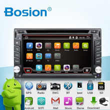 Universal 2 din Android 4.4 Coches Reproductor de DVD GPS + Wifi + Bluetooth + Radio + Quad Core CPU + DDR3 + Pantalla Táctil Capacitiva + 3G + PC Del Coche + Audio