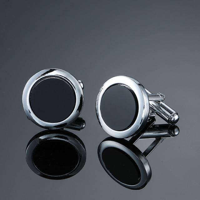 Classic Men's Black box Cufflinks  2