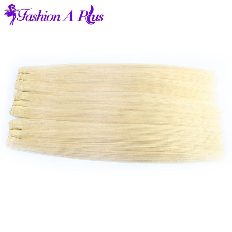 Malaysian Virgin Hair Body Wave # 613 Lágy emberi hajhosszabbítás - Emberi haj (fehérre) - Fénykép 4
