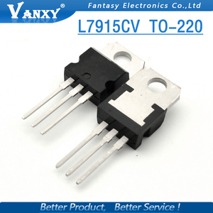 Image 4 - 10PCS L7915CV TO220 L7915 TO 220 7915 LM7915 MC7915 7915CV new and  original IC