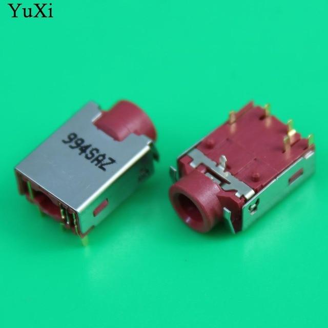 Prise dinterface audio commune YuXi pour Acer pour HP pour Lenovo prise casque rouge pour ordinateur portable
