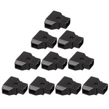 цена на HOT-10Pcs D-Tap Dtap Power Male Rewirable Cable Socket TAP male Plug for DSLR Rig power cable V-mount Anton Battery