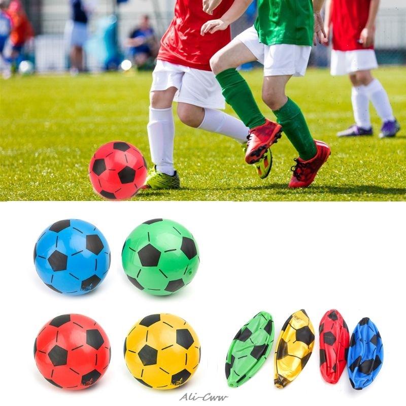 Children Soccer Ball Kid Gift Training Inflatable Football 20cm Elastic Balls