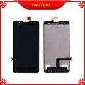 5 ''LCD Назад Полный Дисплей Для ZTE V5 V5S N9180 V9180 U9180 N918ST С Сенсорным Экраном Дигитайзер Ассамблеи