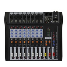 Professional Mixer 8 Channels Mixing console For small show and meeting home show