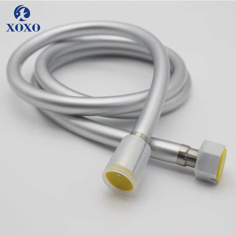 XOXO 1.5m PVC High Pressure Shower Hose For Bath Handheld Shower Head plumbing hose Bathroom Accessories water pipe J158