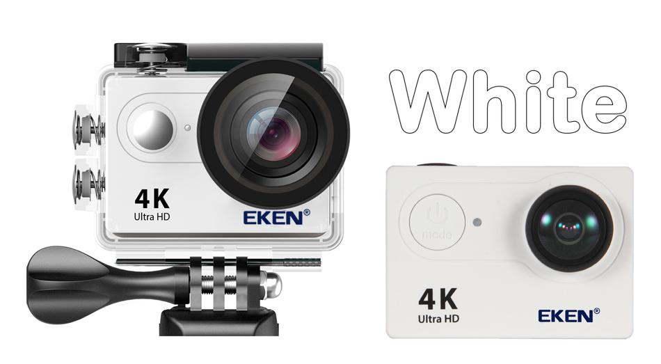 """EKEN H9R/H9 Ultra HD 4 K/30fps WiFi 2,0 """"170D impermeable bajo el agua 19"""