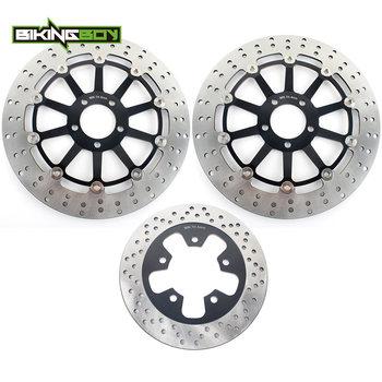 BIKINGBOY Front Rear Brake Discs Rotors Disks for Kawasaki NINJA ZXR750 1989 1990 1991 1992 1993 1994 95 ZXR 750 H 89 90 H1 H2