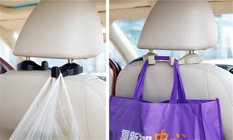 2 stucke Auto-Styling tragbare sitz haken for AUDI a1 a3 a4L a4 a5 a6 b8 c5 c6 b7 a6L a7 a8L S5 S a8 S8 Q3 Q5 Q7 accessories