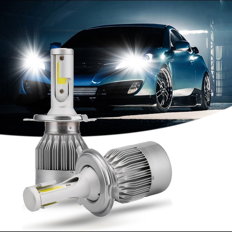 2X H7 Led H4 Car Headlights 80w 8000lm Car Led Light Bulbs H1 H8 H9 H11 Automobiles Headlamp 6000K led 12v Fog Lamps C6 Car Led