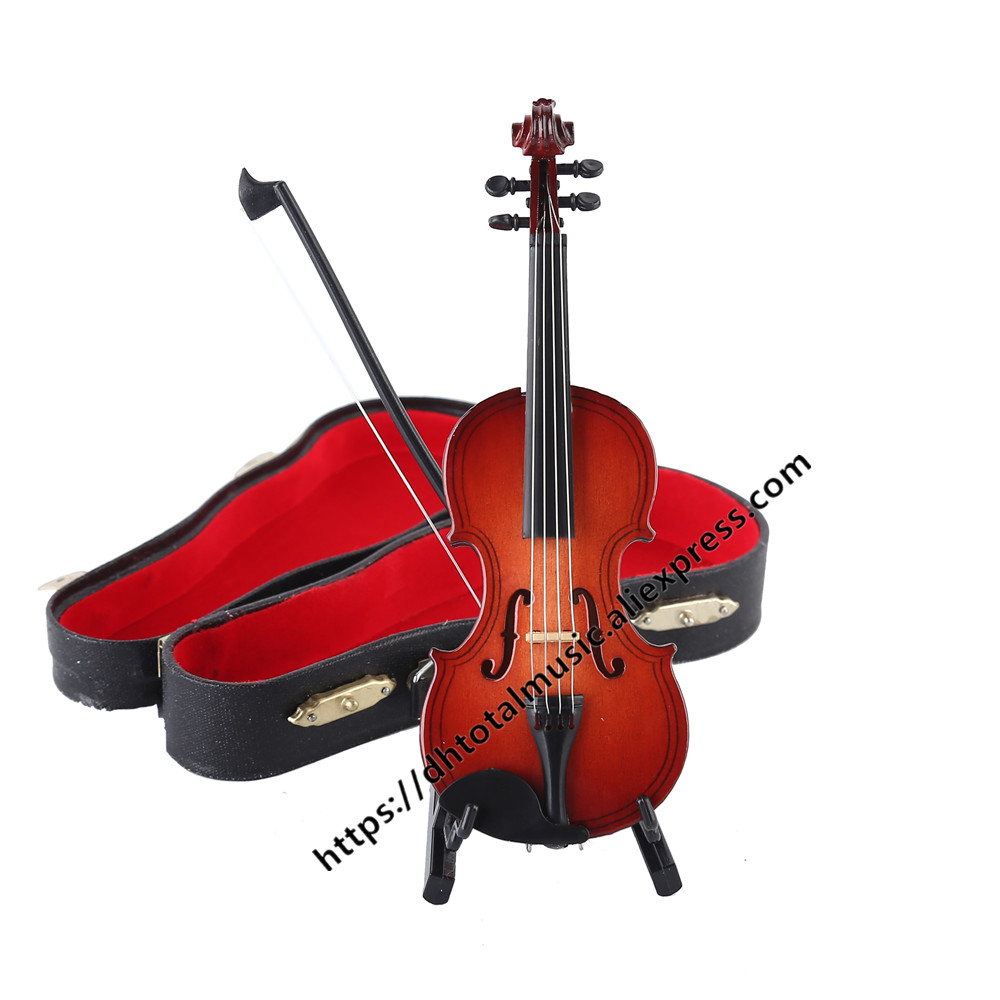 mini musical instrument violin miniature display model realistic music lover gift birthday gift