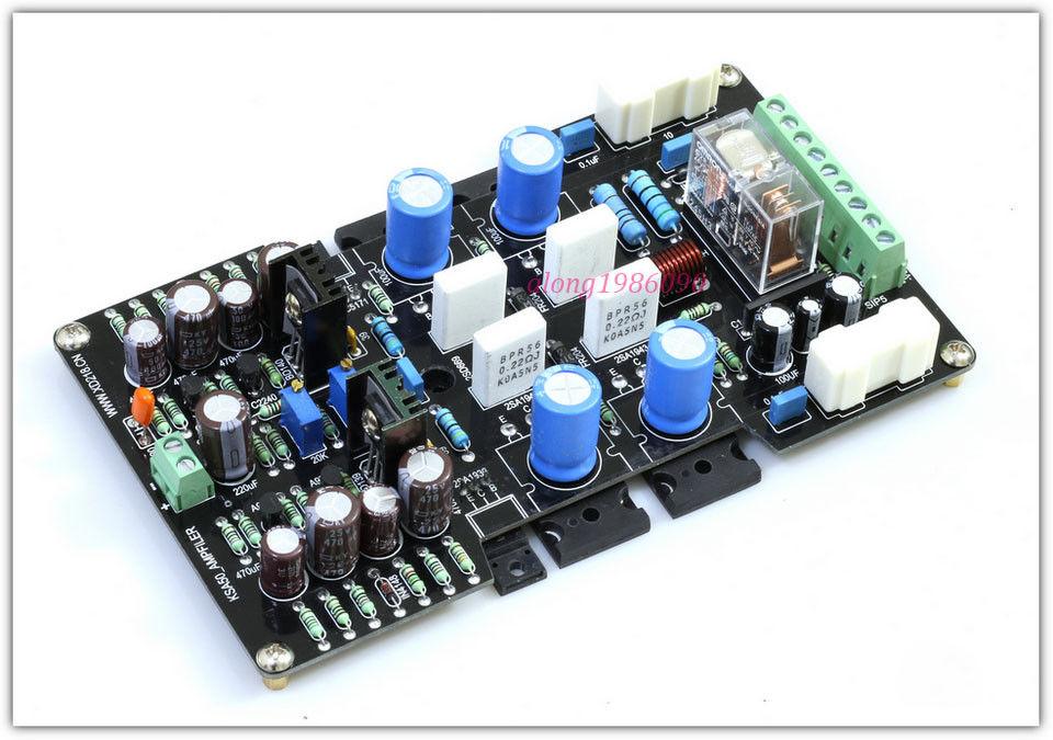 ZEROZONE Assembeld Mono 50W Class A Power amplifier board base on KRELL KSA-50 amp L6-30 assembeld mono na 2 power amplifier board base on naim nap200 amp 75w mono board