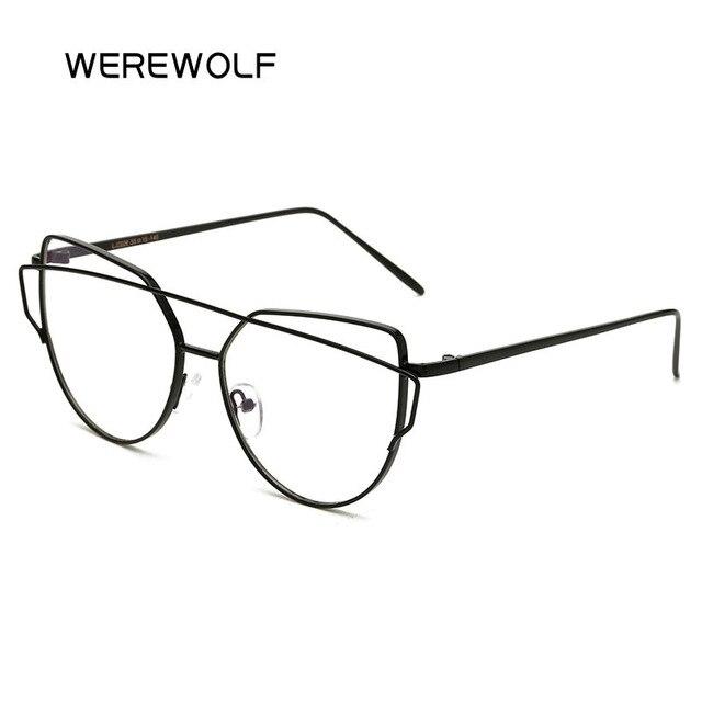 Katze Auge Klar Sonnenbrille Marke Designer Uv400 Rose Gold Spiegel
