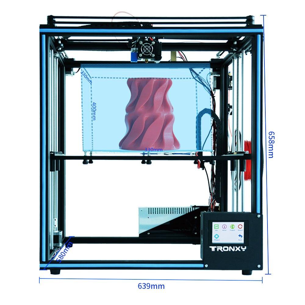 Impressora de 4.3 Filamento Funtion Meanwell Criatividade 3d
