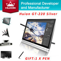 Huion GT 220 21 5 Inch IPS HD LCD Monitor Touch Screen Monitors Interactive Pen Display