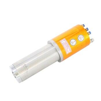 Eje de refrigeración de agua CNC de 220 V, eje de refrigeración ISO20, impermeable, 30000 RPM, 2,2 kW, husillo de máquina de grabado, 500Hz