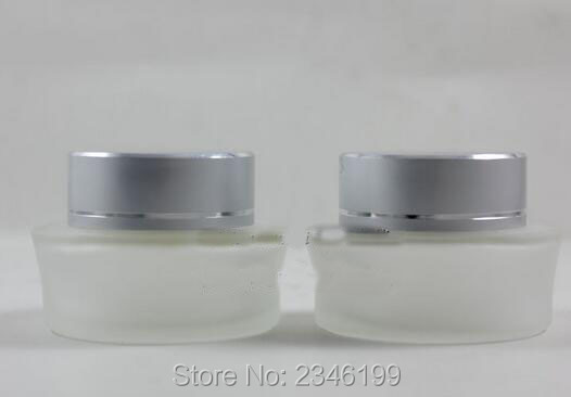 Ml Glass Cosmetic Jar Gold Lid