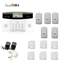 SmartYIBA GSM Alarm System Home Security Alarma Security Anti Theft Alarm System With PIR Motion Sensor