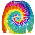 2015 mulheres / homens 3d camisola impresso Tie Dye Tie galaxy hip hop camisolas harajuku hoodies roupas