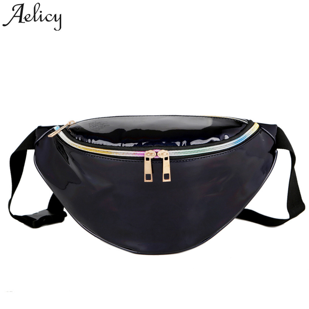 Engagement & Wedding Bags For Women 2019 New Fashion Neutral Outdoor Zipper Sequin Messenger Bag Sport Chest Bag Waist Bag Cross-shoulder Pocket