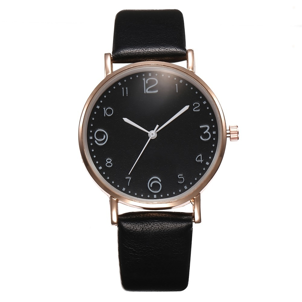 HTB1h_eKQIfpK1RjSZFOq6y6nFXaZ New Style Fashion Women's Luxury Leather Band Analog Quartz