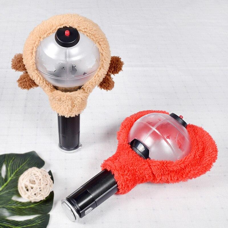 Korean Stars Animal Lamp Cover The Aid Shades Cute Plush Hand Lamp Case BTata Suga 21 Koya Animal Accessories(China)