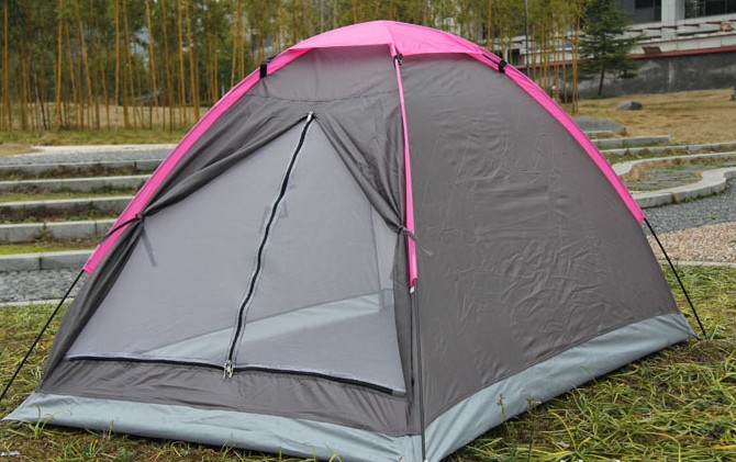 Straight Type outdoor c&ing High quality tents waterproof beach barraca hunting fishing Single gazebo-in Tents from Sports u0026 Entertainment on ... & Straight Type outdoor camping High quality tents waterproof beach ...