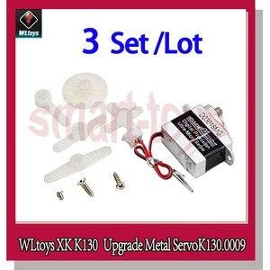 Image 1 - WLtoys Bluearraow D03018MG XK K130 อัพเกรด Servo K130.0009 สำหรับ WLtoys K130 RC เฮลิคอปเตอร์