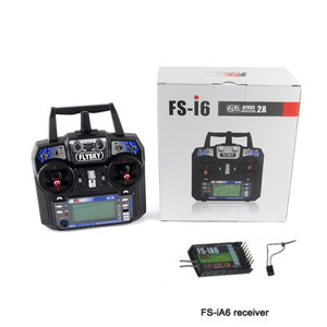 Image 2 - Flysky FS i6 FS I6 2.4G 6ch RC Transmitter Controller FS iA6 or FS iA6B Receiver For RC Helicopter Plane Quadcopter Glider drone