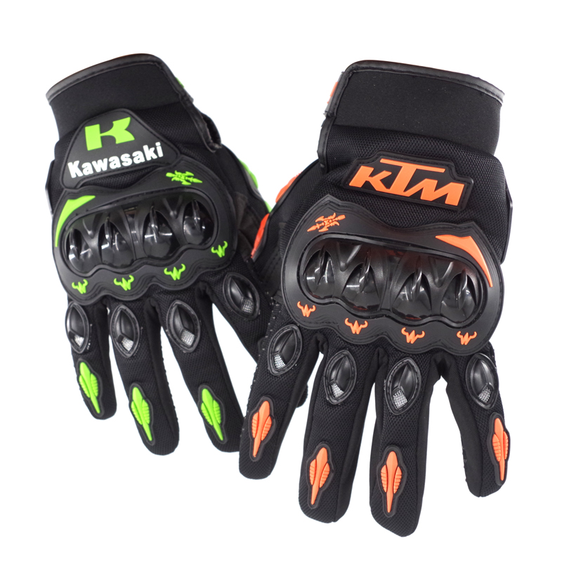 Vendita calda!! Estate Inverno Dito Pieno di moto rcycle guanti gants moto luvas moto di cuoio croce moto rbike guanti moto guanti da corsa