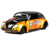 Maisto 1 24 Volkswagen Beetle Diecast Model Car Toy New In Box Free Shipping 31023