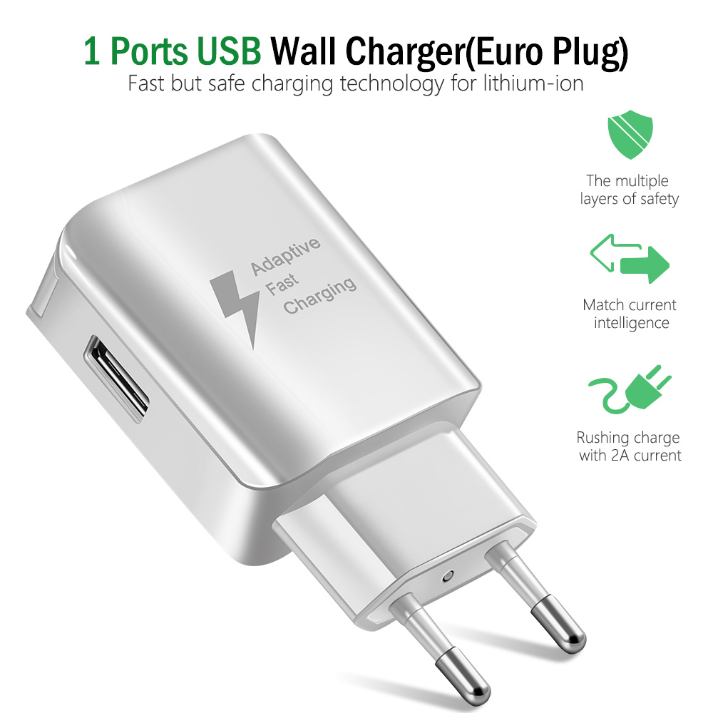 USB Charger For iPhone Samsung Xiaomi Huawei Universal Travel Wall Charger Fast Power Adapter For Tablets Mobile Phone Charger (3)