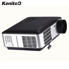 New 3000 Lumens,1280*800 Home theater LED Projector,USB,TV, Full HD,3D,1080P,WIFI Smart Beamer Free Shipping