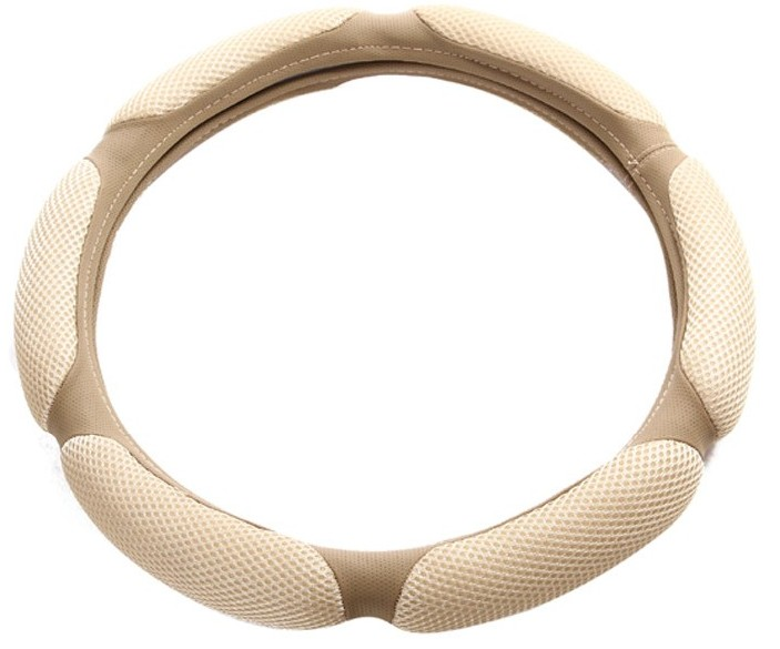 Car Steering Wheel Cover For Girls Leather DAD JP Diamond Steering Covers Four Seasons Car Styling