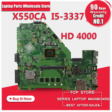 Motherboard for ASUS X550CA X550CC REV2 0 CPU i5 DDR3 Mainboard 60NB00U0 MBD030 Integrated Board Fully