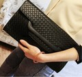 New collection 2017 fashion women brief handbag PU japanned pu leather messenger bag pattern envelope day clutch  high quality