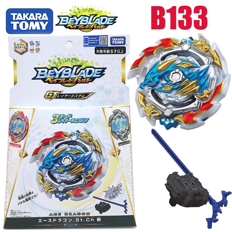 Takara Tomy beyblade burst b133 Saint-Empereur-Dragon Trois-Transformer Rotatif Explosif Gyroscope bayblade B133