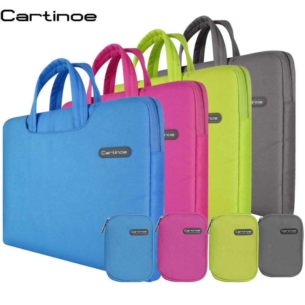 Draagbare laptop sleeve tas 11 12 13 14 15 inch Laptop tas handtas - Notebook accessoires