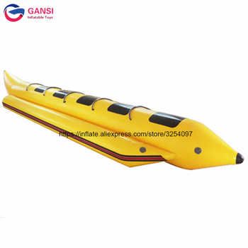 inflatable flying fish water sports equipment for 6 players flying fish towable inflatable flying banana boat tube 5 persons durable towable fly fish boat,ocean rider inflatable flying fish banana boat for adults