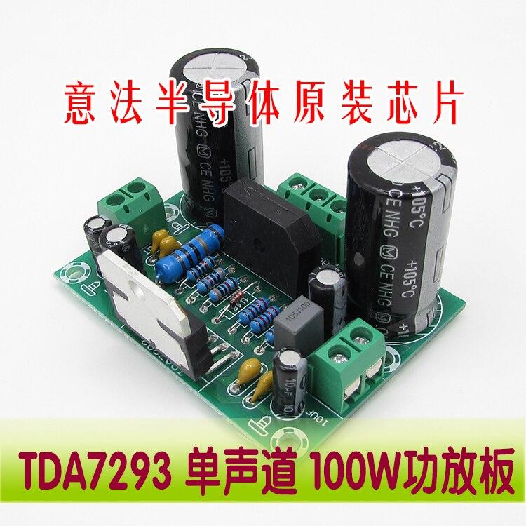 все цены на TDA7293 XH-M170 single channel power amplifier board 100W super wide power dual 12~32V онлайн