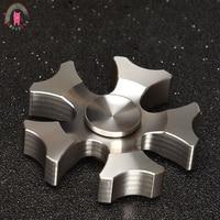 Seiko Hand Spinners Metalen Tri Spinner Fidgets Stainless Steel Toys EDC Sensory Fidget Spinners ADHD Vinger
