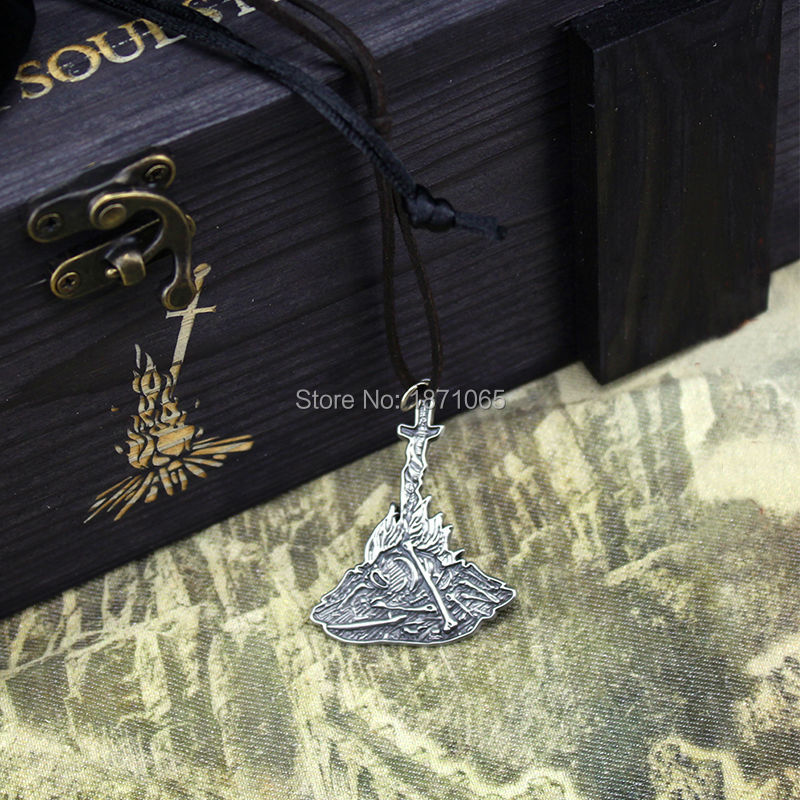 Fun dark souls 3 bonfire chest set anime fashion metal key chain fun dark souls 3 bonfire chest set anime fashion metal key chain pendant key rings christmas game gift with wooden box in action toy figures from toys aloadofball Choice Image