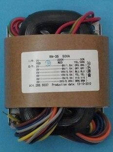 2*25V 1A R Core Transformer 50VA transformer 220V input DAC tube Headphone pre-amplifier цена и фото